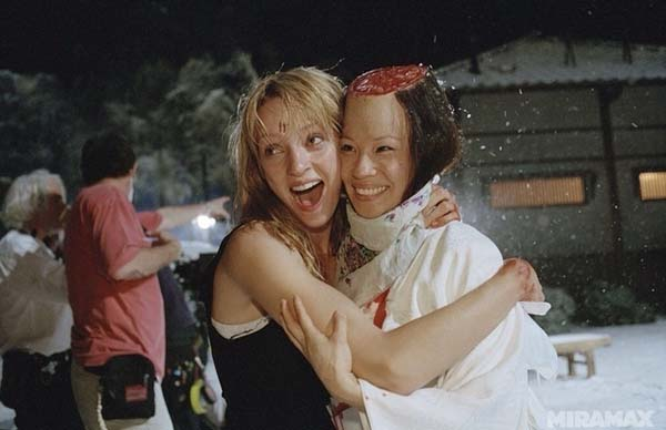 kill bill behind the scene