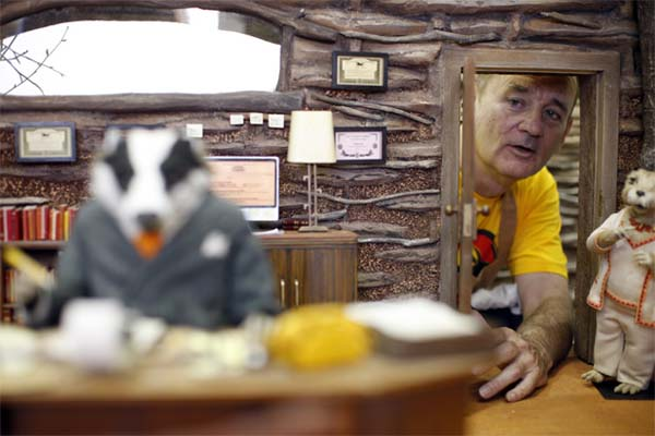 bill murray mr fox kamera arkasi