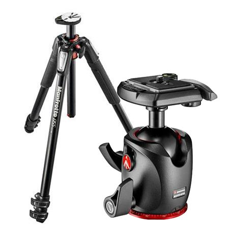 Manfrotto MT055XPRO3 & MHXPRO-BHQ2 XPRO Ball Head